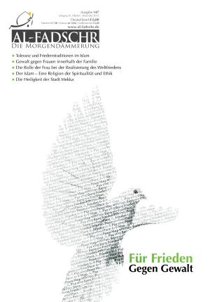 AF-Cover-148-Für-Frieden-gegen-Gewalt